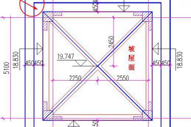 广联达图形软件巧用挑檐构件处理异性挑檐