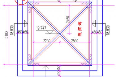 巧用广联达三点定义法画坡屋面 工程实战技巧